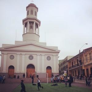 FutValores en Iglesia de la Matriz. Valparaíso